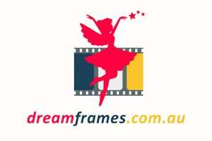 DreamFrames.com.au at BigDad Brand names Start-up Business Brand Names. Creative and Exciting Corporate Brands at BigDad.com.