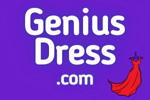 GeniusDress.com at StartupNames Brand names Start-up Business Brand Names. Creative and Exciting Corporate Brand Deals at StartupNames.com