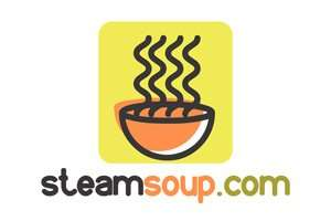 SteamSoup.com at StartupNames Brand names Start-up Business Brand Names. Creative and Exciting Corporate Brand Deals at StartupNames.com