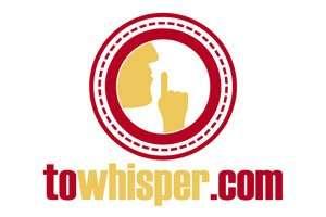 ToWhisper.com at BigDad Brand names Start-up Business Brand Names. Creative and Exciting Corporate Brand Deals at BigDad.com