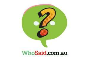 WhoSaid.com.au at StartupNames Brand names Start-up Business Brand Names. Creative and Exciting Corporate Brand Deals at StartupNames.com