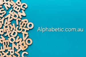 Alphabetic.com.au at BigDad Brand names Start-up Business Brand Names. Creative and Exciting Corporate Brand Deals at BigDad.com.